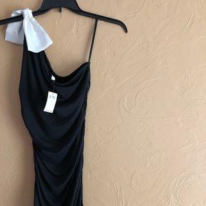 Black one strap should dress